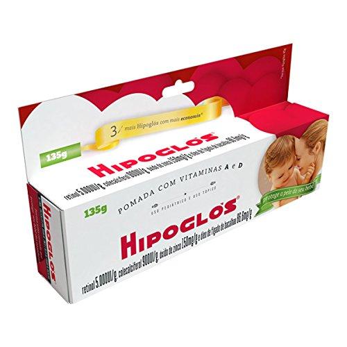Hipoglos 4.7 Oz (135g) Baby Diaper Rash Cream And Dry Skin Protectant by Hipoglos