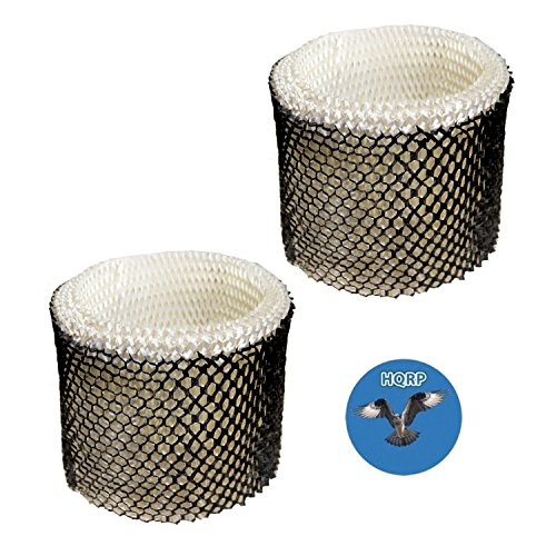 HQRP 2-Pack Wick Filter for Touch Point S35E-A / S35E A Humidifier Filter Replacement Coaster