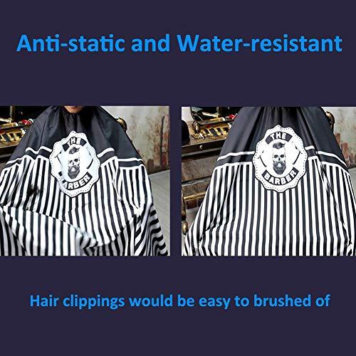 Hair Cutting Cape Coloring Cloak Beard Dye Apron Salon Hairdressing Smock Shampoo Resistant Cloth Cover