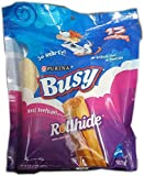 Busy Rollhide Dog Treats 15 Rolls, 4Pack (20 Oz. each)