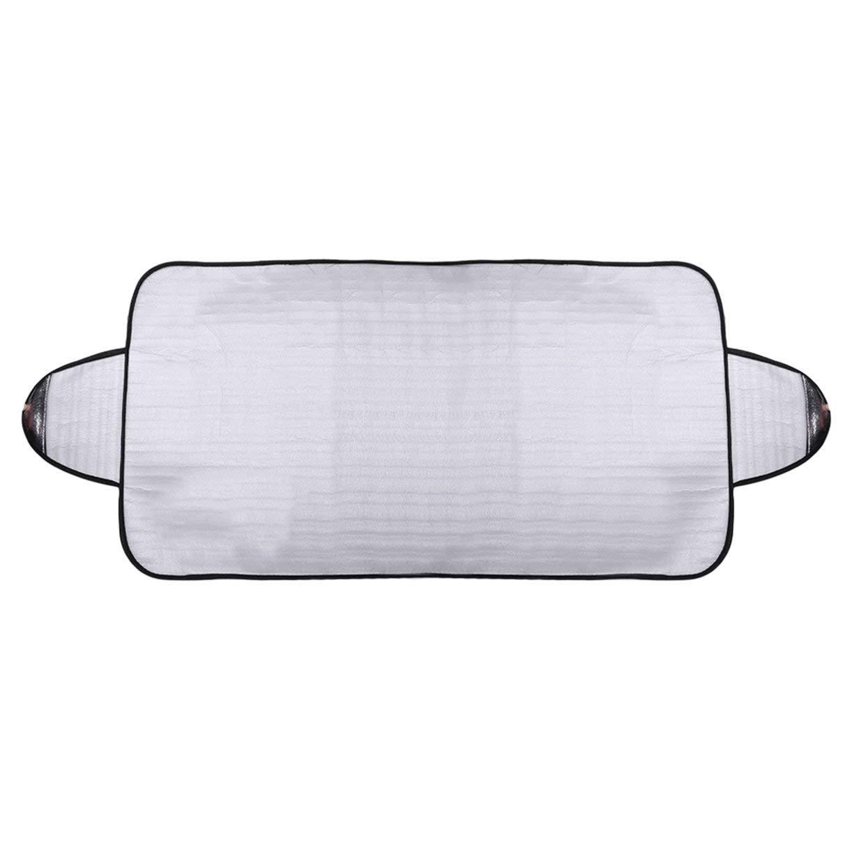 Cubierta prá ctica del parabrisas del coche Anti Ice Snow Frost Shield Protecció n contra el polvo Calor Sombra del sol Ideal para el parabrisas delantero del coche LoveOlvidoE