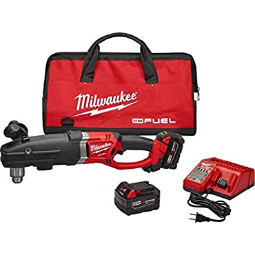 Milwaukee 2709-22 M18 Fuel Super Hawg 1/2 Right Angle Drill Kit