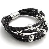 Beydodo Stainless Steel Bracelet (Massive Bracelets) Length 8IN For Men