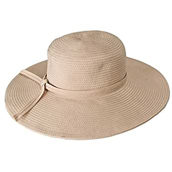 "Packable, Crushable UPF 50+ Protective Sun Hat with 4"" Brim - NH53 (Natural)"