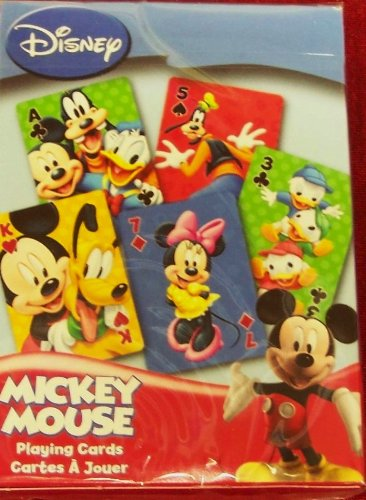 Playing Mouse Mickey Cards (Disney MICKEY MOUSE Playing Cards: Bicycle Brand....)