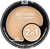Revlon ColorStay 2-in-1 Compact Makeup & Concealer, Natural Beige