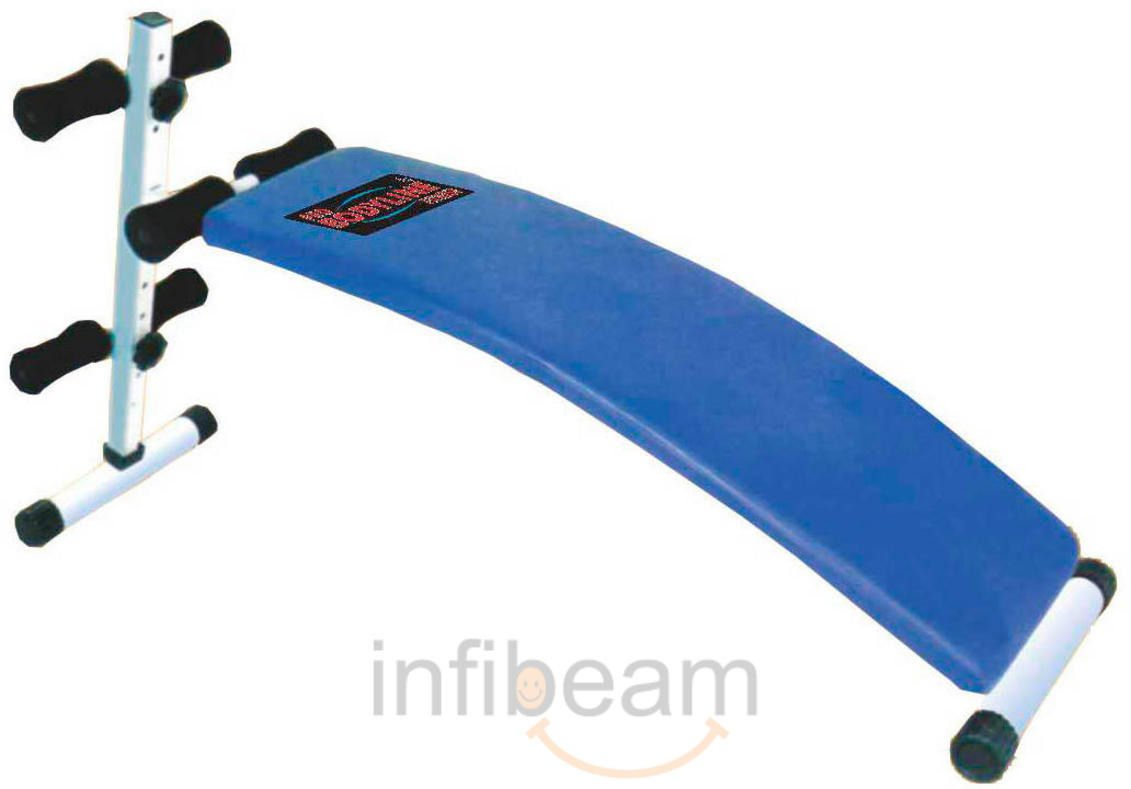 Buy Pro Bodyline Domestic Curve Sit Up Bench Online at Low Prices in ...