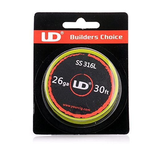 UD Youde wire - Stainless Steel 316L - 26 AWG / 0.40 mm - 10 metre spool