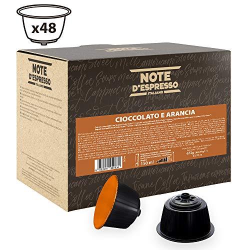 Note D'Espresso Orange Chocolate, Kapseln ausschließlich Kompatibel mit Nescafé* und *Dolce Gusto* Kapselmaschinen 14 g x 48 Kapseln