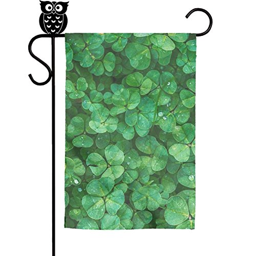 decorative garden flags green patrick