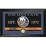 "NHL New York Islanders Man Cave Panoramic Coin Photo Mint, Bronze, 22"" x 15"" x 4"""