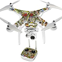 Skin For DJI Phantom 3 Professional – Fish Puzzle | MightySkins Protective, Durable, and Unique Vinyl Decal wrap cover | Easy To Apply, Remove, and Change Styles | Made in the USA