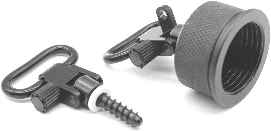S-8032 TRIROCK Quick Detachable 1.0 Magazine Cap Sling Swivel Set for 12 Gauge Remington 11-87 Guns Accessories