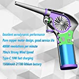 Cordless Electric Duster,Rechargeable 15000mAh