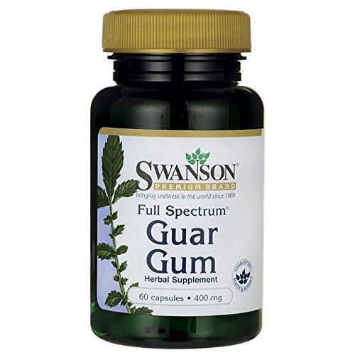 Swanson Full Spectrum Guar Gum 400 Milligrams 60 Capsules Review