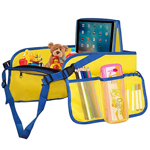 iPad//Tablet Holder-... Comes with Dry Erase Board and Markers Kids Travel Tray