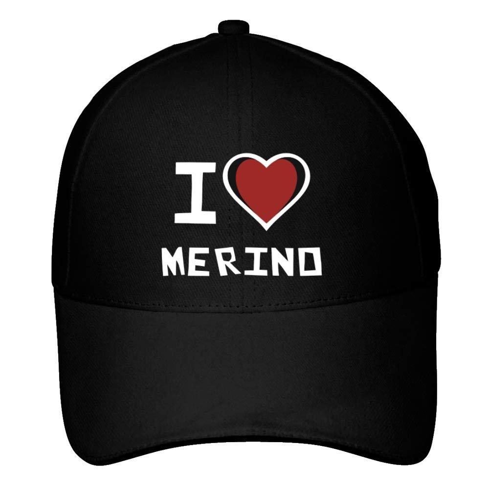 Idakoos I Love Merino Bicolor Heart - Apellidos - Gorra De Béisbol   Amazon.es  Ropa y accesorios 91127d6c0cf