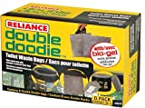 Camping Toilets Reliance Products Double Doodie Toilet Waste Bags (6-Pack)