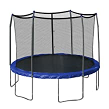 Skywalker Trampolines  Round and Enclosure with Spring Pad