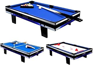 Carromco Galaxy XT 3 en 1 Multigame Table Galaxy XT 3 en 1 Multigame Table blue/black CAYCT|#Carromco 06223