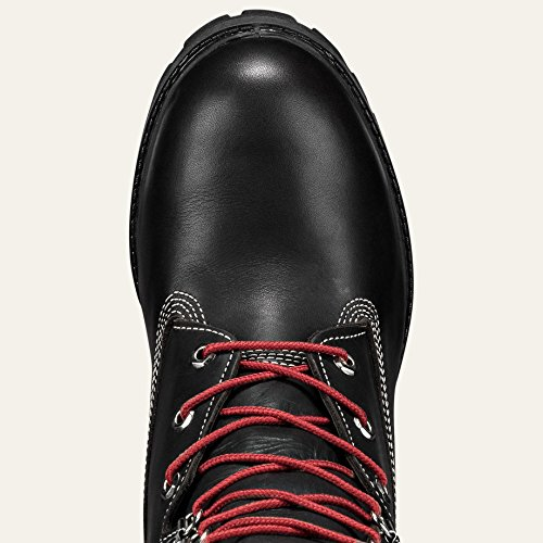 Timberland Mens 8 Premium Boot Black-footwear / Boots