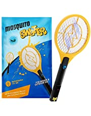 Kekilo Bug Zapper, USB Rechargeable Electric Mosquito, Fly Killer, Bug Zapper Racket and Mosquito Swatter for Indoor Camping Pest Control, 3-Layer Mesh (USB Rechargeable
