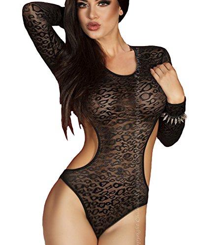 Chilirose - Body - para mujer negro L-XL