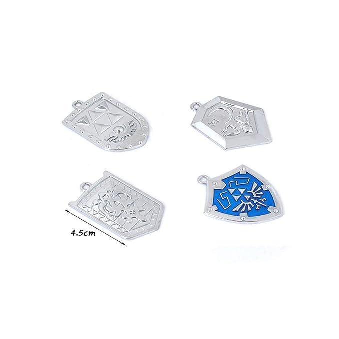 Amazon.com: Zelda Triforce Shield & Sword - Llavero con caja ...