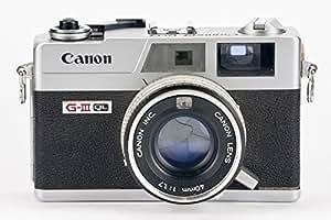 Canon Canonet QL17 QL-17 QL 17 G-III GIII G III -- Canon 45mm 1.7 silver
