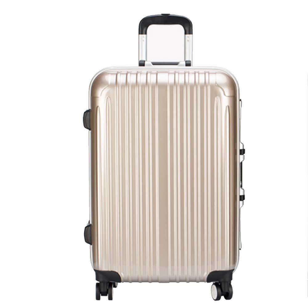 XF スーツケース 荷物女性のパスワードボックストロリーケースユニバーサルホイールスーツケース男性搭乗箱31.4インチ/ 34.1インチ トラベルバッグスーツケース (色 : C, サイズ さいず : 46*28*68cm) 46*28*68cm C B07MPRGYM3
