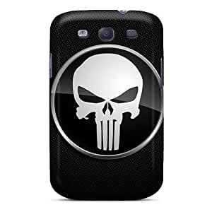 Excellent Galaxy S3 Case Tpu Cover Back Skin Protector The Punisher