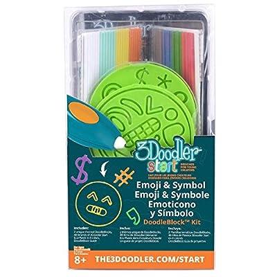 """3Doodler 62125 """"Emoji and Symbols Doodle Block Kit for 3D-Stift: Toys & Games"""