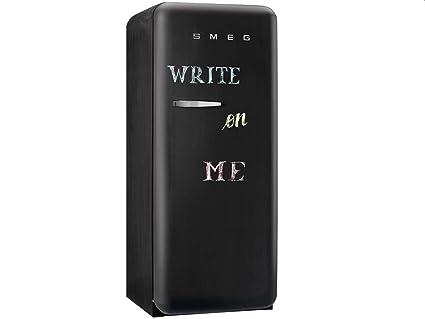 Smeg Kühlschrank Schwarz : Smeg fab rdbb kühlschrank a kühlteil l gefrierteil l