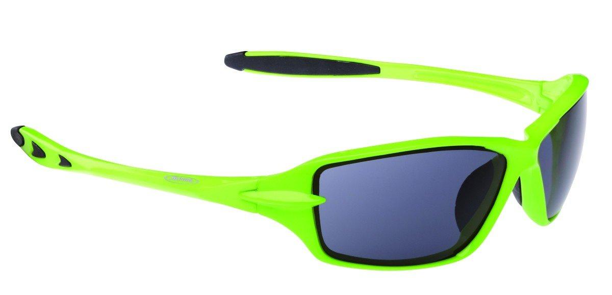 Sportbrille ALPINA LAXX viele Farben zur Auswahl, Farbe:green-black;Scheibe:black S3