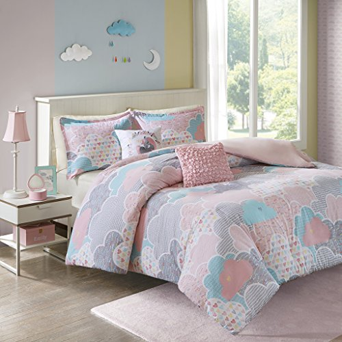 (Urban Habitat Kids Cloud Duvet Cover Set, Twin/Twin XL, Pink)