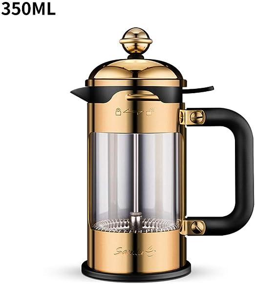 Stoge Cafetera Francesa A Presión De 350 Ml con Filtro De Acero Inoxidable Reutilizable, Tetera, Cafetera Manual: Amazon.es: Hogar