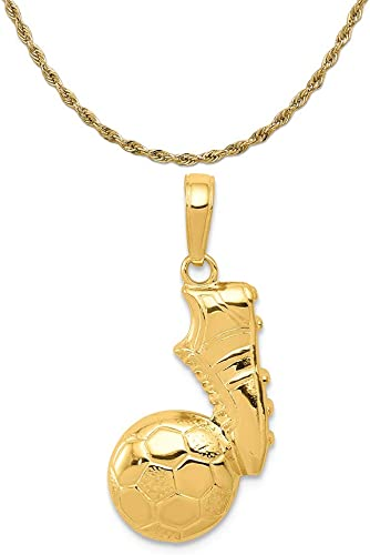Mireval Sterling Silver Polished Horse Charm on a Sterling Silver Chain Necklace 16-20