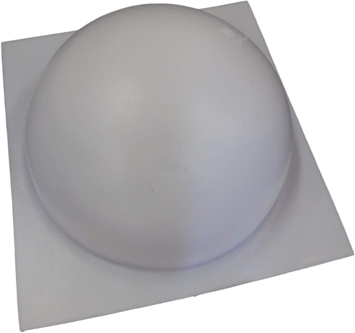 "Half sphere 4/"" W mold plaster concrete resin casting mould"