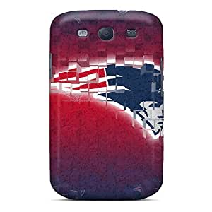 High Quality Shock Absorbing Case For Galaxy S3-new England Patriots