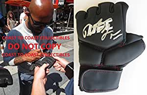 Demetrious Johnson, Mighty Mouse,mma,signed,autographed,ufc Glove,coa,with Proof - Autographed UFC Gloves