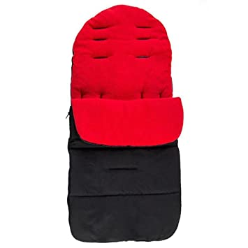 Saco para bebé Wawer, forro cálido para el cochecito o la silla de paseo, rojo: Amazon.es: Deportes y aire libre