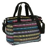 LeSportsac Ryan Baby Diaper Bag,Lestripe Black,One Size