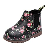 Girls Boys Kids Martin Sneaker Fall Winter Boots Shoes 6-9 Years Old  Children Print Thick Snow...