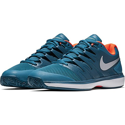 Nike blue Hc metallic Silver Multicolore Sneakers Prestige Abyss 001 Force Zoom Air Homme green Basses qBfqHpw