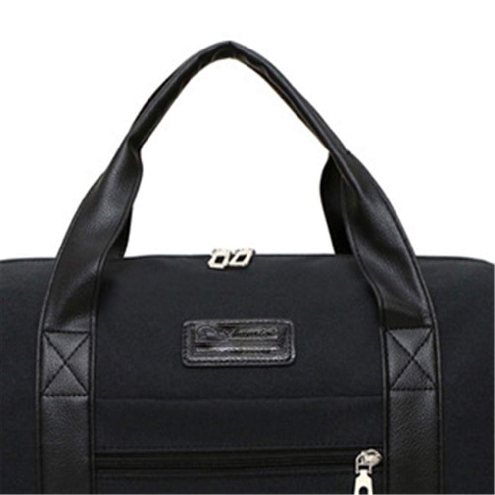 Ybriefbag Unisex Canvas Travel Bag Wear Canvas Bag Large Capacity Travel Fitness Bag Vacation