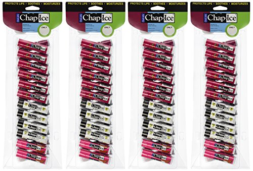 Chap-Ice Assorted Lip Balm - 24 ct (Pack of 4) by Chap-Ice