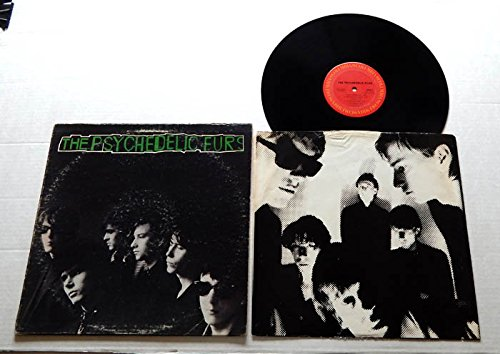1980 Lyrics Song (Psychedelic Furs PSYCHEDELIC FURS (SELF TITLED) NJC Number + Lyrics Sleeve - Columbia Records 1980 - USED Vinyl LP Record -