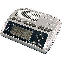MIDLAND Deluxe SAME Weather Alert/All-Hazard Radio with AM/FM Radio WR300 WR-300 46014743007