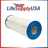50 Pool Spa Filter for Unicel C-8412 Pool Filter, Fits 120 Square Foot Hayward CX1200RE, 23-5/6'' x 8-5/16'' in., by LifeSupplyUSA