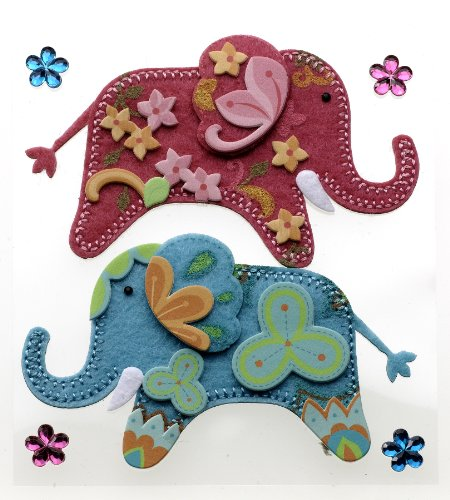 (Jolee's Boutique Dimensional Stickers, Stitched)